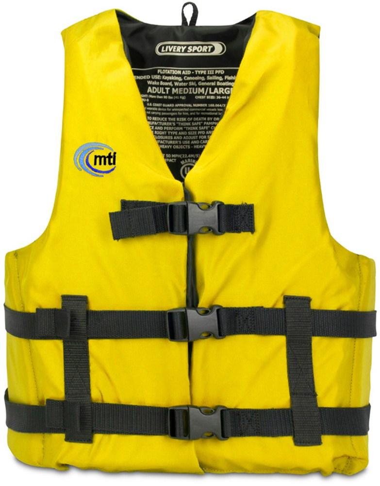 photo: MTI Livery Sport life jacket/pfd