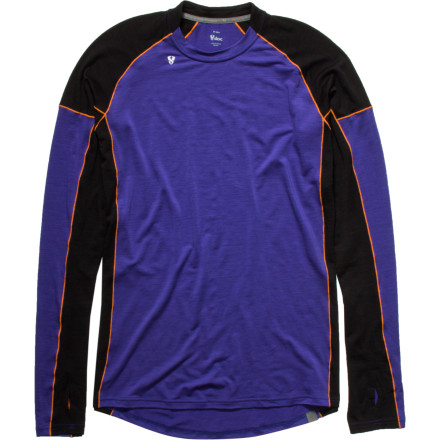 photo: Stoic Alpine Merino 150 Crew - Long-Sleeve base layer top
