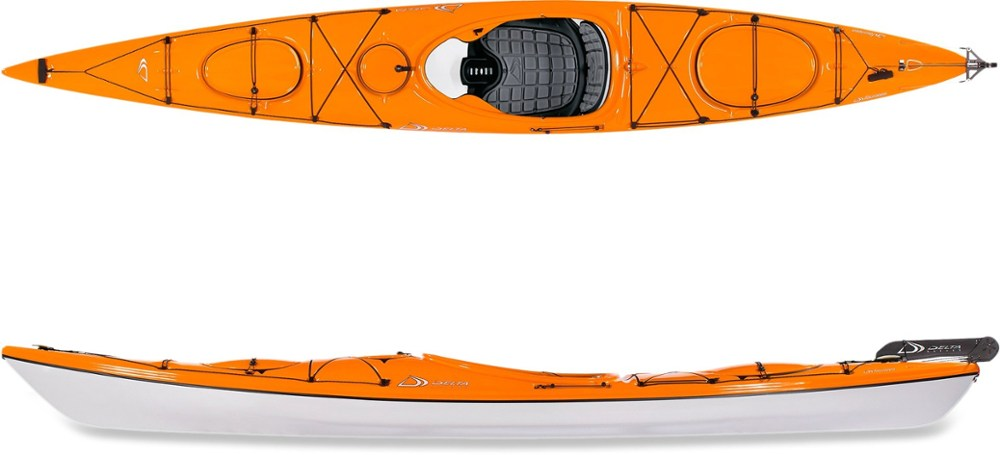 photo: Delta Kayaks Delta 14 with Rudder touring kayak