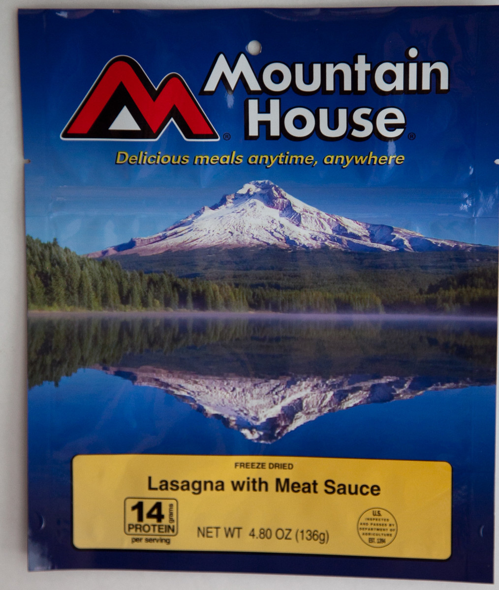 photo: Mountain House Lasagna with Meat Sauce meat entrée