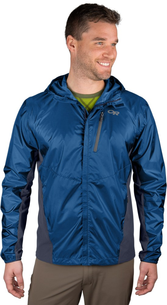photo: Outdoor Research Helium Hybrid Hooded Jacket waterproof jacket