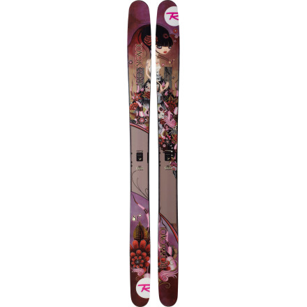 photo: Rossignol Women's S7 alpine touring/telemark ski