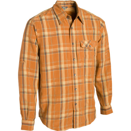 photo: Royal Robbins Big O Plaid Long-Sleeve Shirt hiking shirt