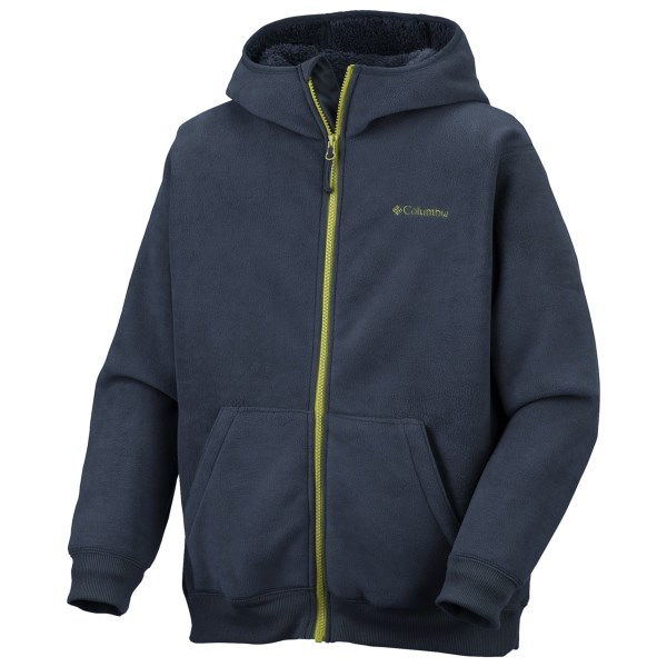 photo: Columbia Dapper Dude Hoodie fleece jacket