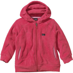 photo: Patagonia Kids' Plush Synchilla Hoody fleece top