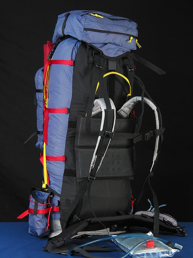 photo: McHale Super Inex expedition pack (70l+)