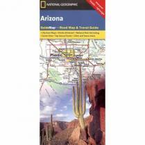 photo: National Geographic Arizona Map us mountain states paper map