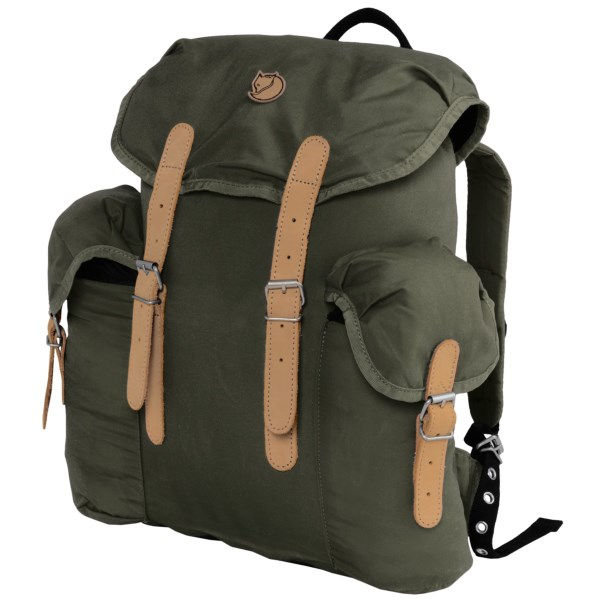 photo: Fjallraven Vintage 13 Pack daypack (under 2,000 cu in)