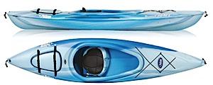 photo: Pelican International Pursuit 100 DLX recreational kayak