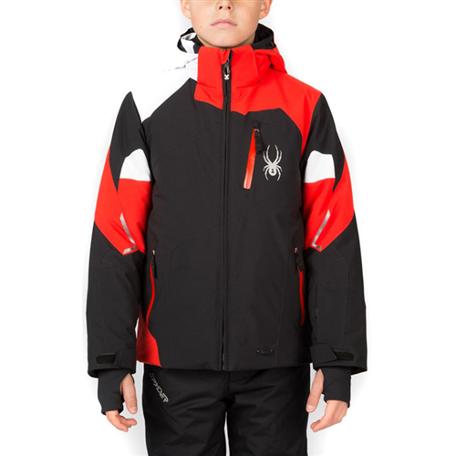 photo: Spyder Boys' Leader Jacket snowsport jacket