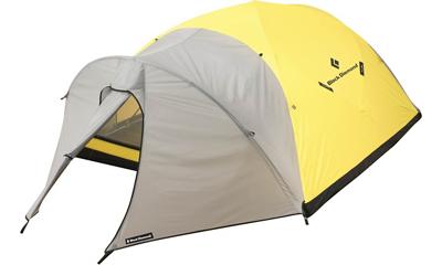 photo: Bibler Bombshelter four-season tent