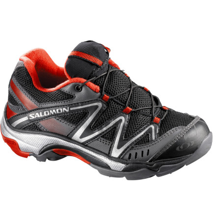 photo: Salomon Boys' XT Wings trail running shoe