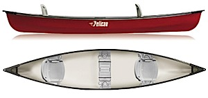 photo of a Pelican International canoe