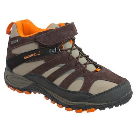 photo: Merrell Kids' Chameleon4 Mid Waterproof hiking boot