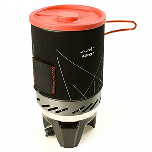 photo: Alpkit BruKit compressed fuel canister stove