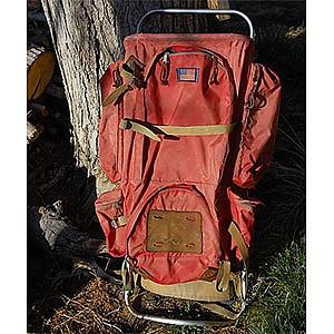photo: JanSport D3 external frame backpack