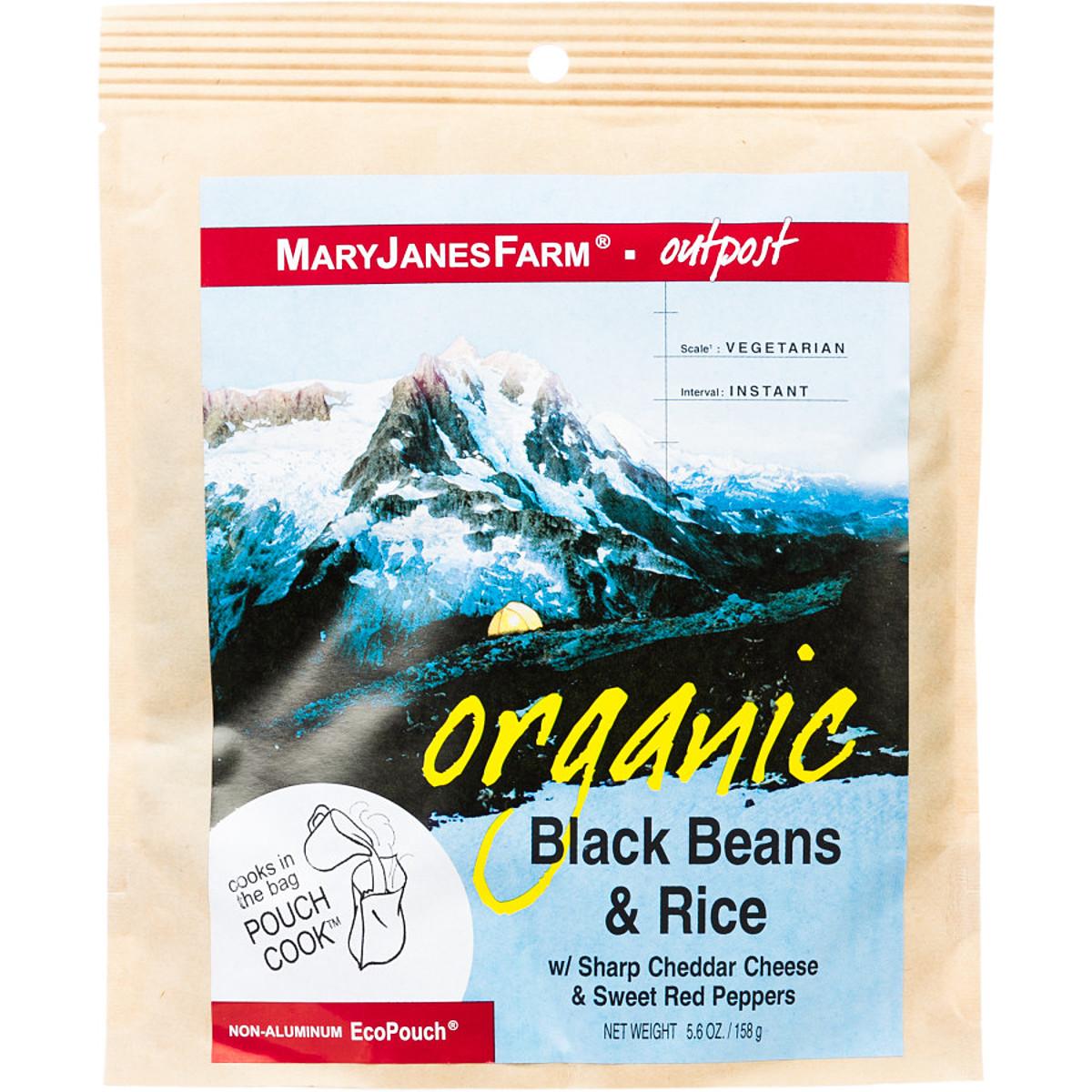 photo: Mary Janes Farm Organic Black Beans & Rice vegetarian entrée