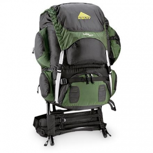 photo: Kelty Trekker external frame backpack