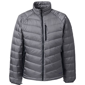 photo: Lands' End 800 Down Packable Jacket waterproof jacket