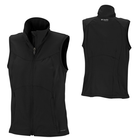 photo: Columbia Trail Twist Vest fleece vest