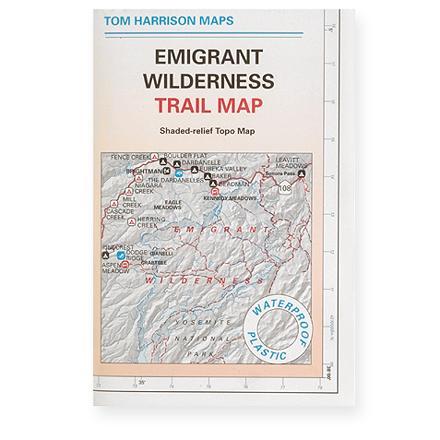 Tom Harrison Maps Emigrant Wilderness Trail Map