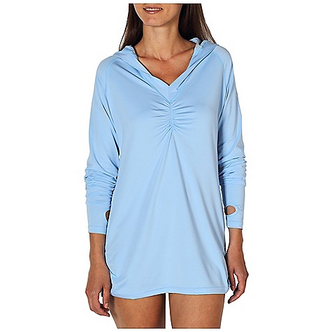 photo: ExOfficio Sol Cool Hoody long sleeve performance top