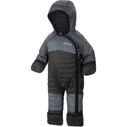 photo: Columbia Shimmer Me Bunting kids' snowsuit/bunting