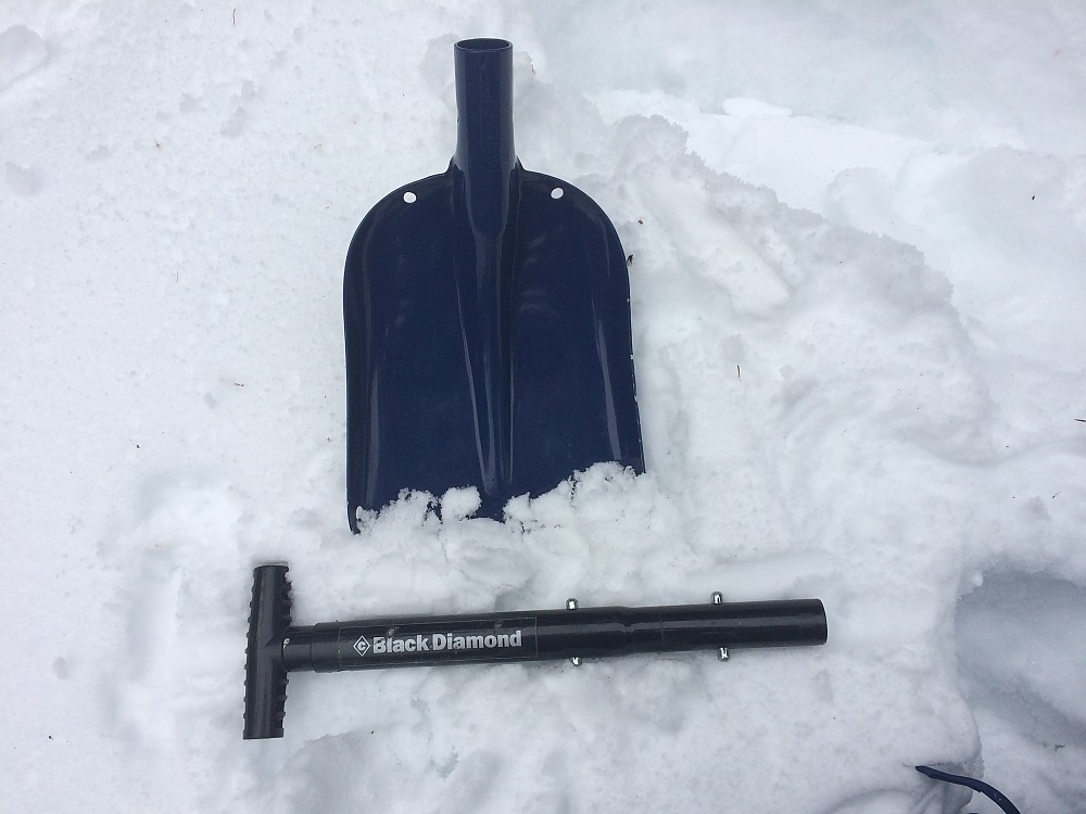 photo: Black Diamond Tele Lynx snow shovel