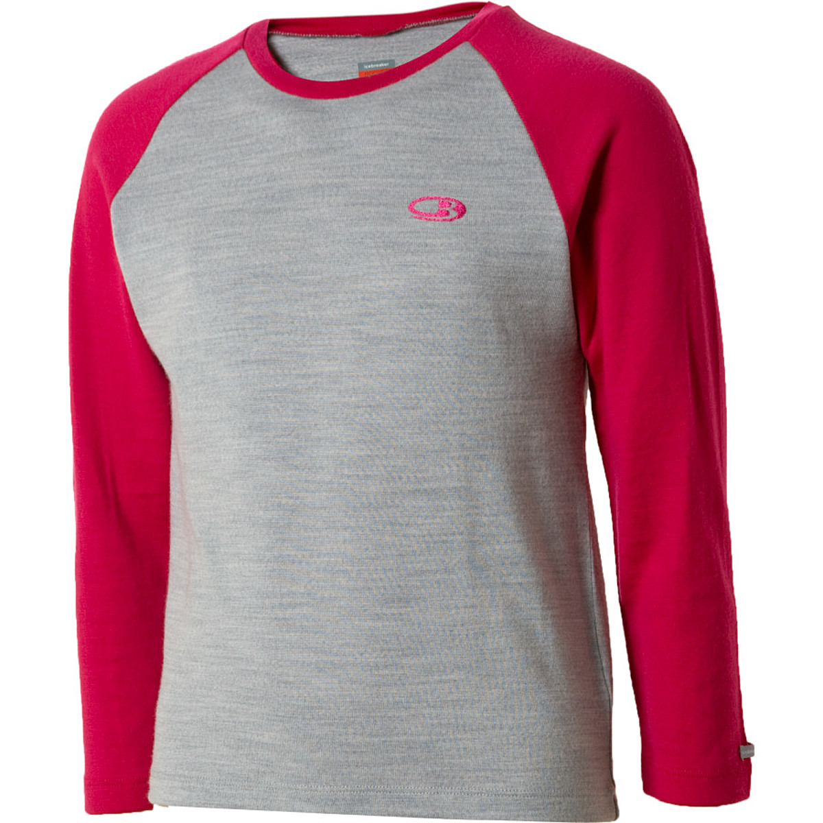 photo: Icebreaker Girls' 260 Midweight LS Crewe base layer top