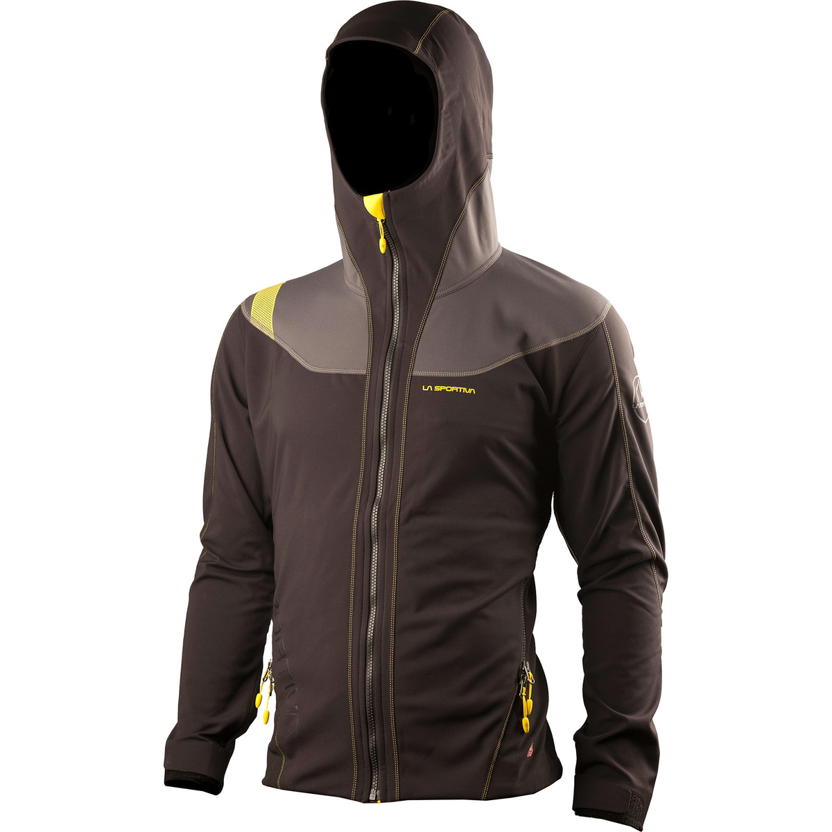 photo: La Sportiva Adjuster Soft Shell Jacket soft shell jacket
