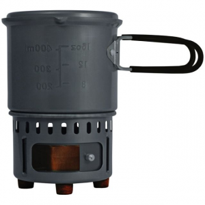 photo: Bleuet Stove with Cookset solid fuel stove