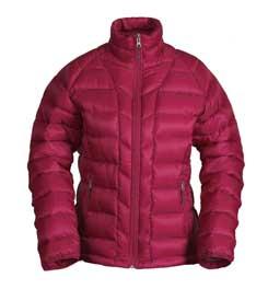 photo: White Sierra Paradise Falls Down Jacket down insulated jacket
