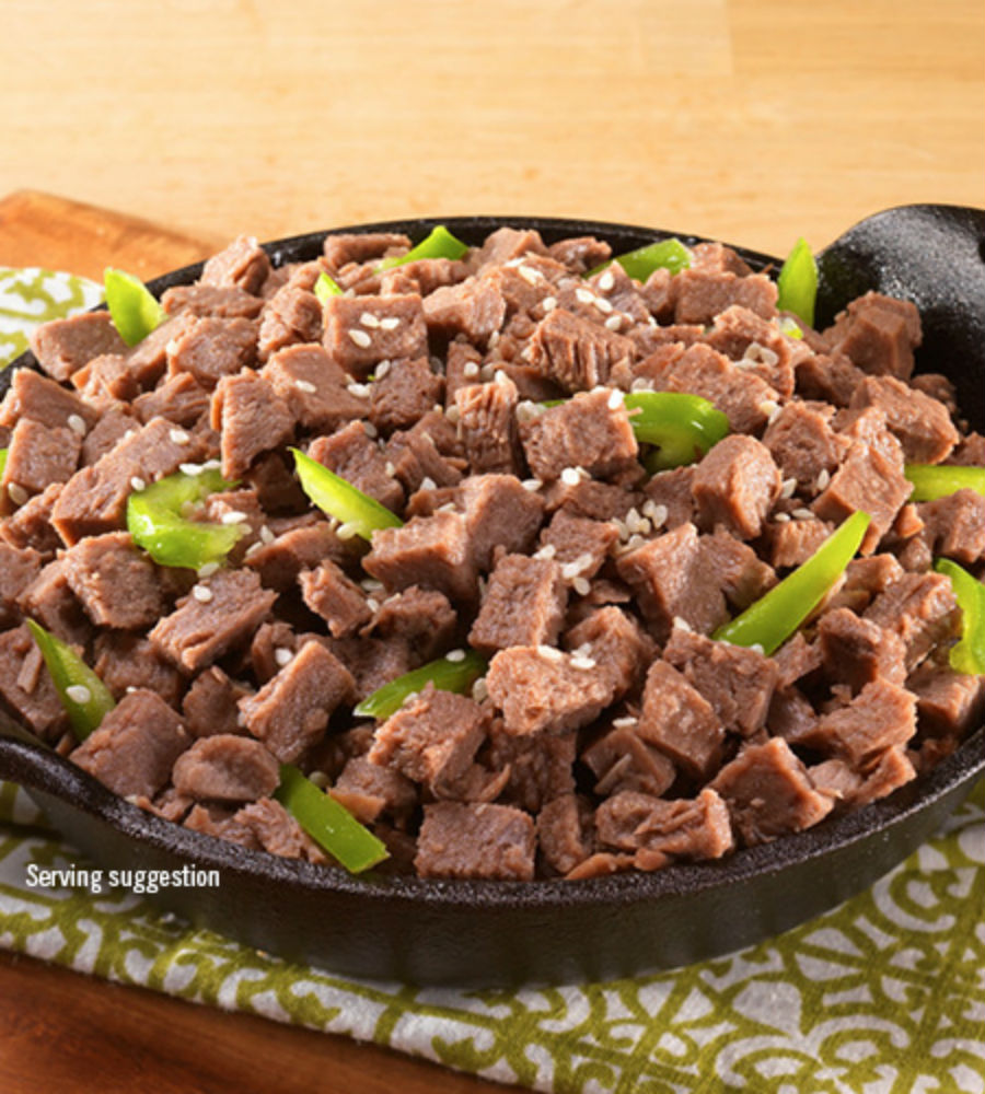 photo: Mountain House Diced Beef meat entrée