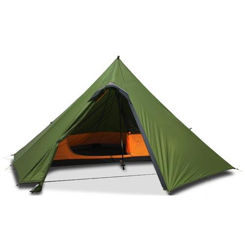 photo: Luxe Outdoor Sil Hexpeak V4a three-season tent