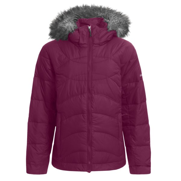 photo: Columbia Snow Furry Jacket down insulated jacket