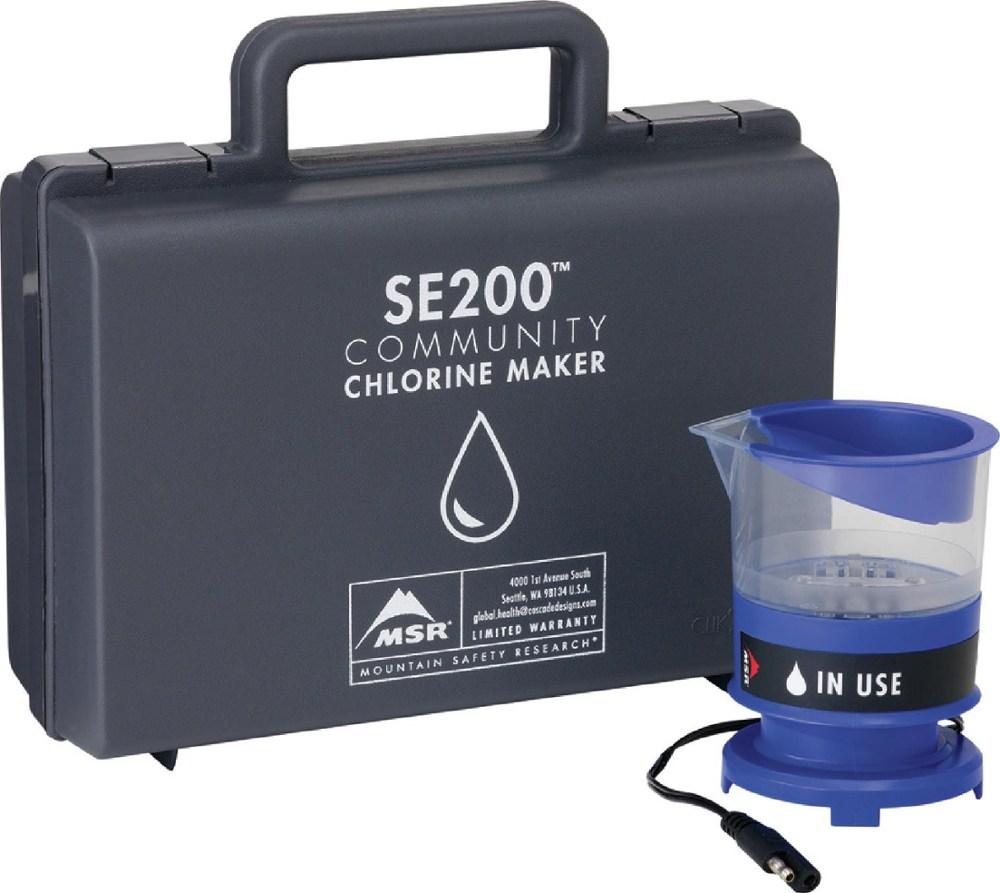 photo: MSR SE200 Community Chlorine Maker water treatment product