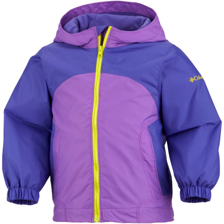photo: Columbia Girls' Jabber Monkey Jacket waterproof jacket