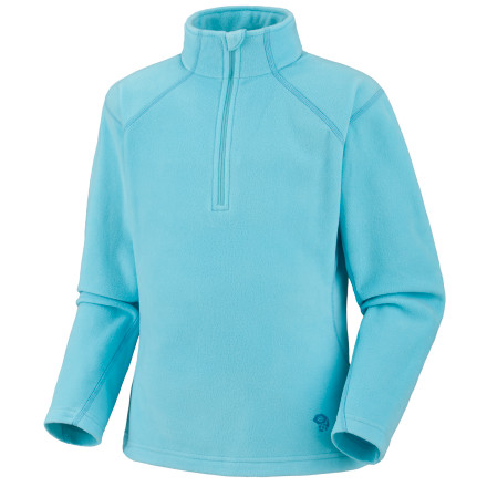 photo: Mountain Hardwear Girls' MicroChill Zip T fleece top