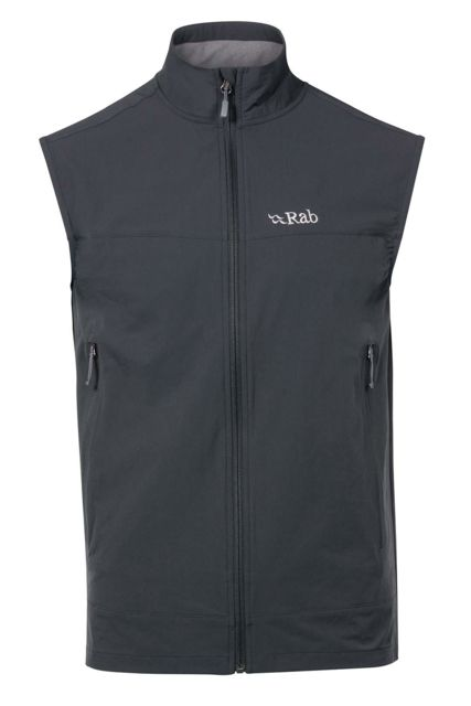 photo: Rab Women's Sawtooth Vest soft shell vest