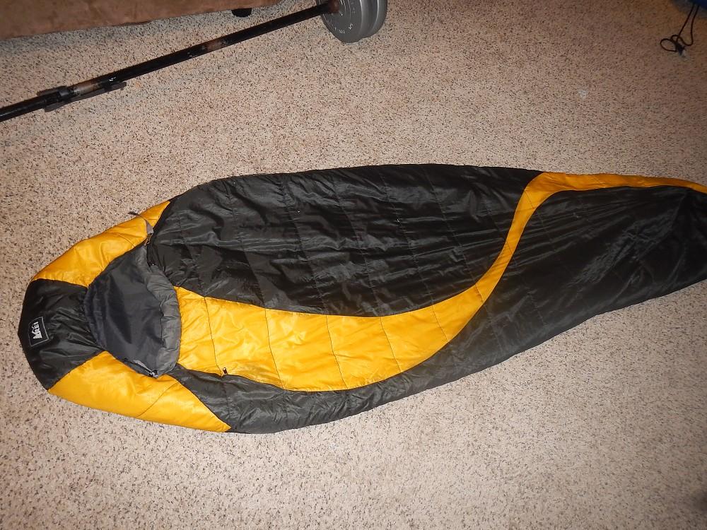 photo: REI Nooksack UL +10 3-season synthetic sleeping bag