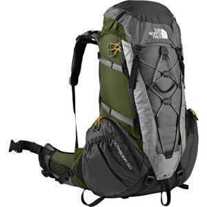 photo: The North Face Men's Outrider 60 weekend pack (3,000 - 4,499 cu in)