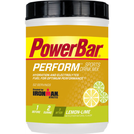 photo: PowerBar Ironman Perform Sports Drink Mix drink