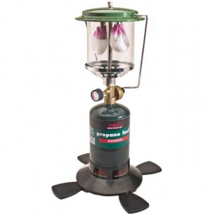 Texsport Double Mantle Propane Lantern Auto Light