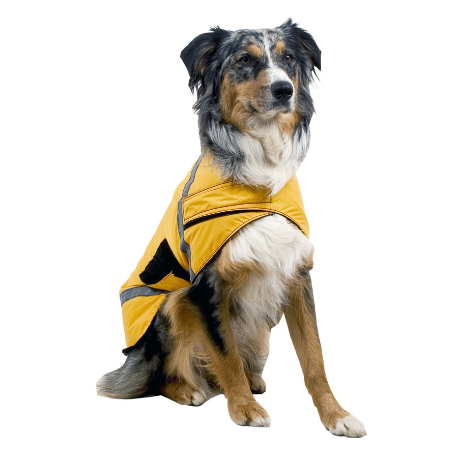 photo: Granite Gear High Visibility Coat dog coat/vest