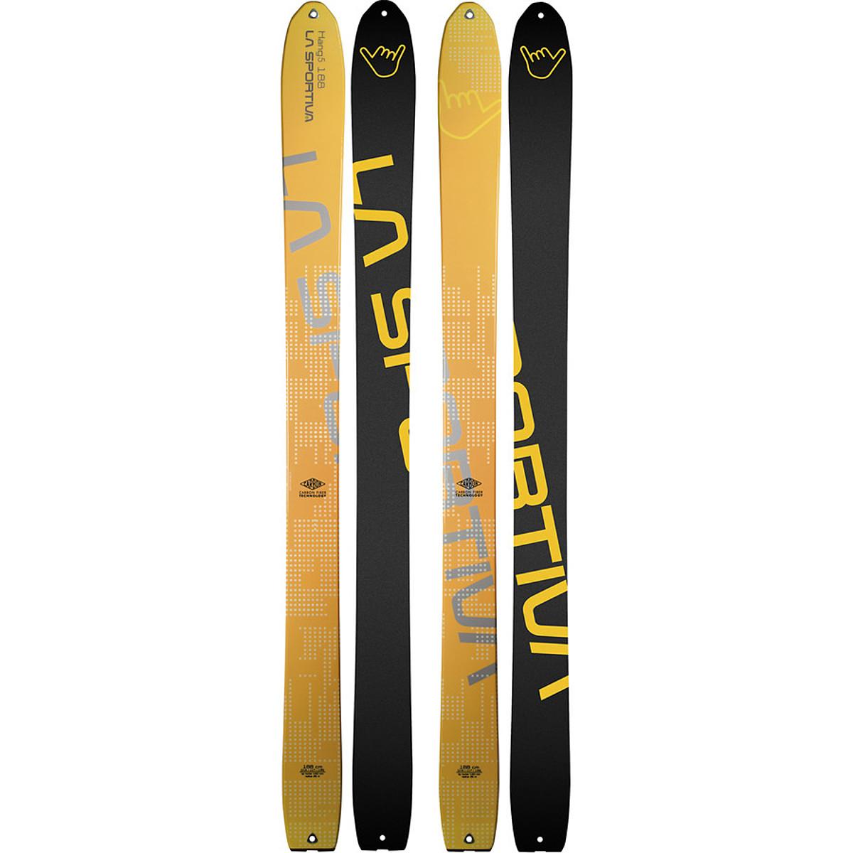 photo: La Sportiva Hang5 alpine touring/telemark ski