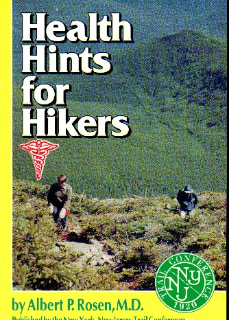NY-NJ Trail Conference Health Hints For Hikers