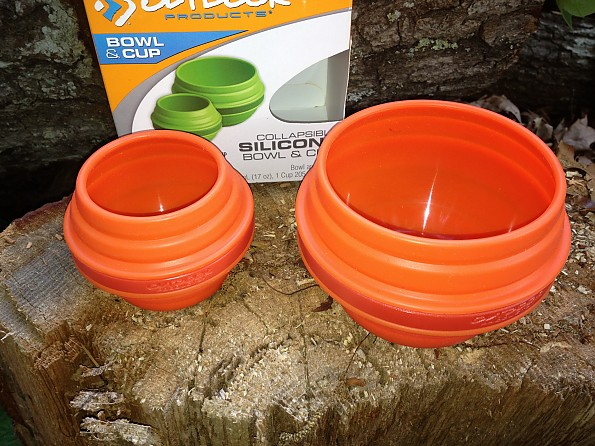 Outdoor Products Collapsible Silicone Bowl & Cup