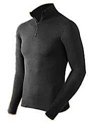 photo: Coldpruf Men's Extreme Performance Mock Zip base layer top