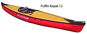 photo: Pakboats   Puffin Kayak 12 folding kayak