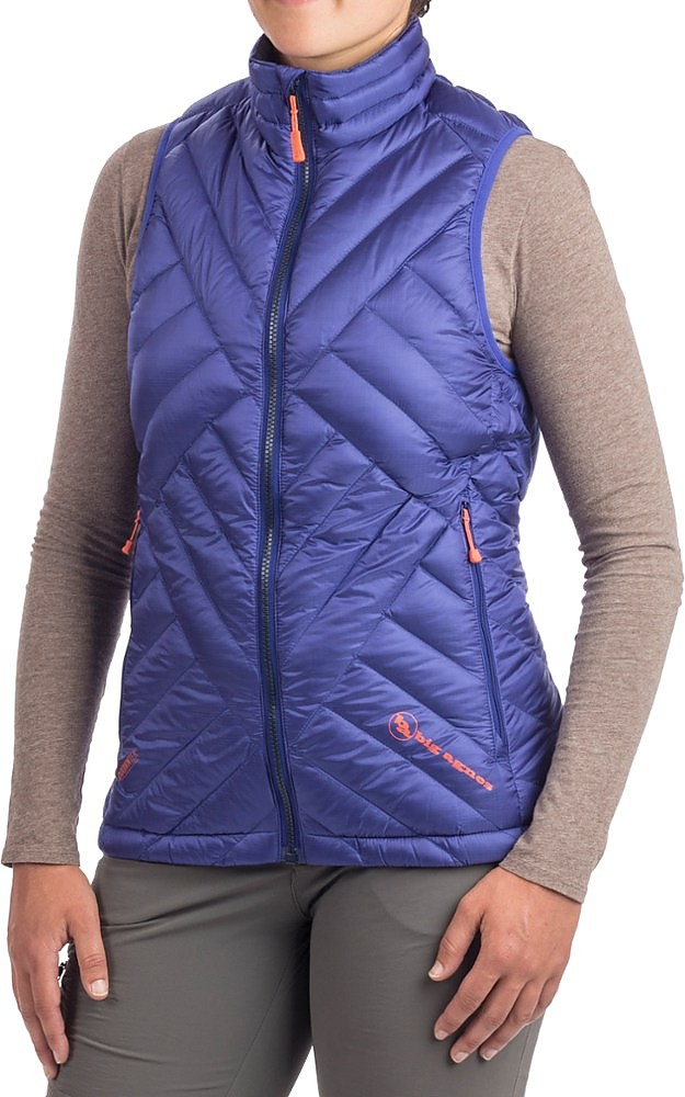 photo: Big Agnes Late Lunch Vest down insulated vest